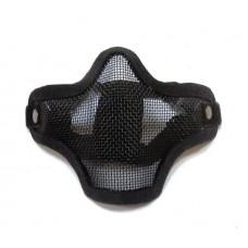 Маска защитная сетчатая на нижнюю часть лица (сталкер) черный