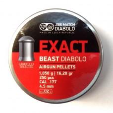 Пули пневматические JSB Exact Beast Diabolo 250 шт.