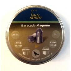 Пули пневматические H&N Baracuda Magnum 200 шт.