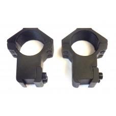 Крепление оптического прицела - кольца Ø25мм ласточкин хвост высокие тип-4