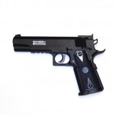Пистолет пневматический Swiss Arms P1911 MATCH