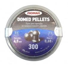 Пули пневматические ЛЮМАН Domed pellets 0.68г 500 шт.