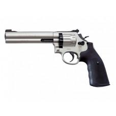 """Револьвер пневматический Umarex S&W 686-6"""" (никель)"""