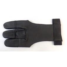 Напальчник традиционный (черная кожа) Interloper