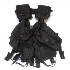 Жилет разгрузочный Commando TLVB M4 черный Mil-Tec