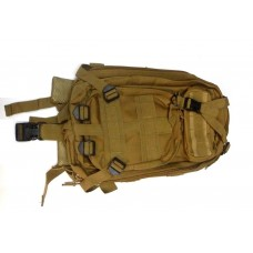 Рюкзак тактический 3P 25л койот Китай