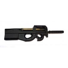 Пистолет-пулемет страйкбольный FN P90 CYMA с глушителем