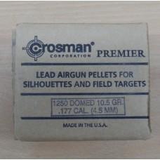 Пули пневматические Crosman Domed  (Premier) 1250 шт.