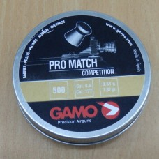 Пули пневматические GAMO Pro-Match 500 шт.