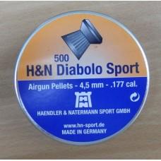 Пули пневматические H&N Diabolo Sport 500 шт.
