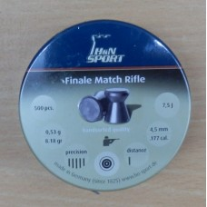 Пули пневматические H&N Finale Match (винтовочная) 500 шт.