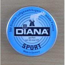 Пули пневматические Diana Sport 500 шт.