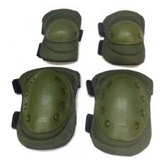 Комплект налокотников и наколенников SWAT