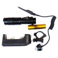 Фонарь светодиодный 1-PD (police) (Q-1812)