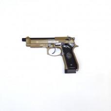 Пистолет пневматический страйкбольный TAURUS PT92 TAN
