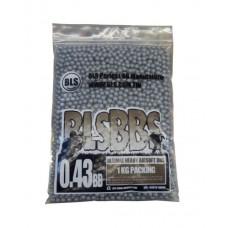 Шары для страйкбола 0.43гр/1кг BLS
