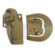 Кобура пластиковая SERPA Beretta 92/96 койот