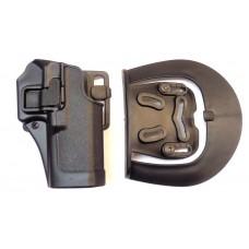 Кобура пластиковая SERPA Glock черная