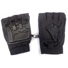 Перчатки б/п с пластиковой защитой