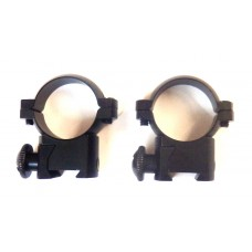 Крепление оптического прицела - кольца Ø25мм ласточкин хвост низкие быстросъемные