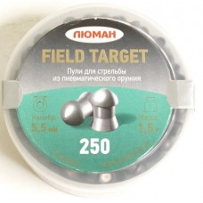 Пули пневматические ЛЮМАН Field Target 1.5г 250 шт.