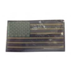 Патч USA (олива) Резина на велкро