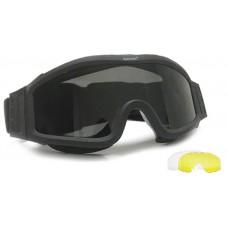 Очки защитные большие BLACK