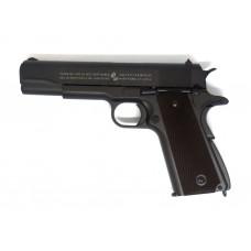 Пистолет страйкбольный KWC Colt 1911 A1 BK