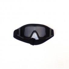 Очки защитные сетчатые большие Black