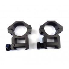 Крепление оптического прицела - кольца Ø25мм Weaver Leapers