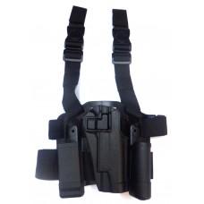 Кобура пластиковая тактическая BlackHawk Beretta